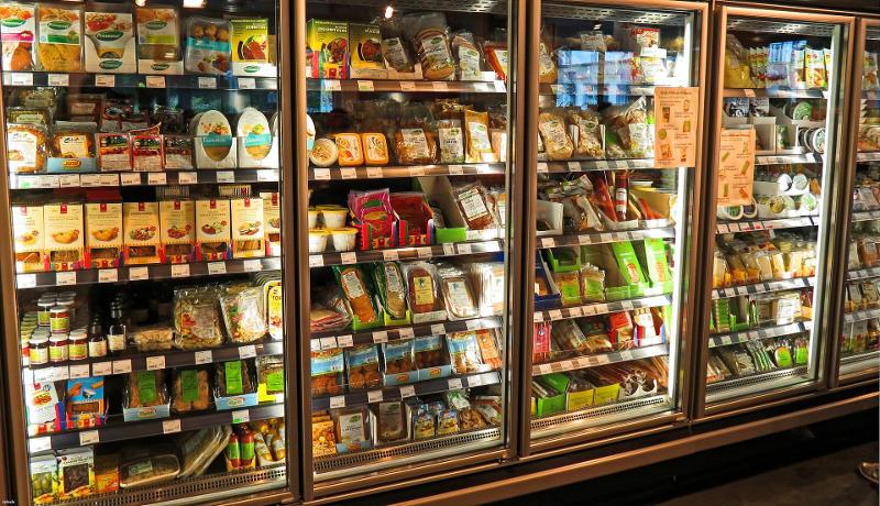 Supermarkt Regal